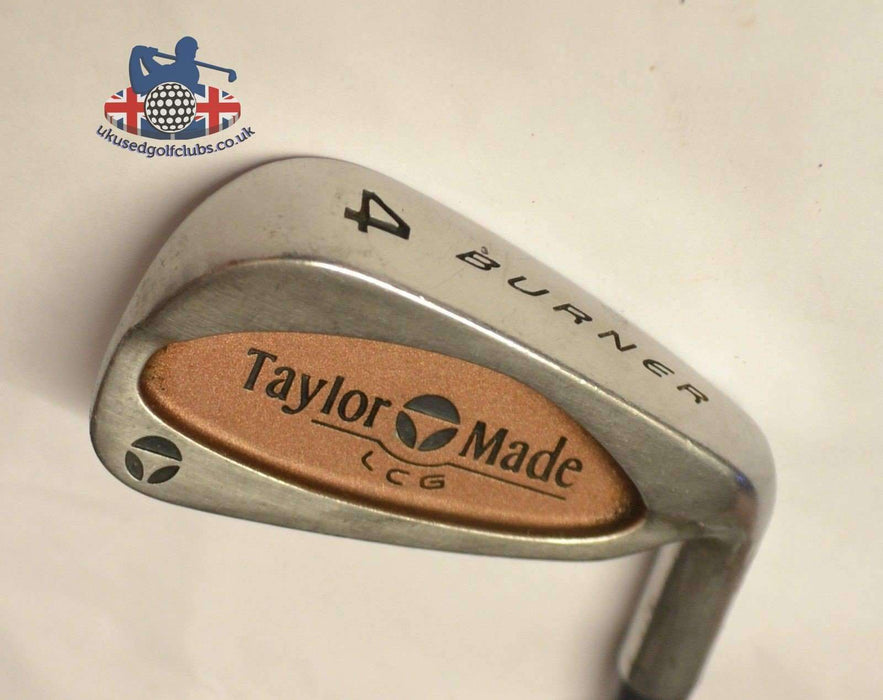 TaylorMade Burner LCG 4 Iron R-80 Rifle Regular Steel Shaft TaylorMade Grip