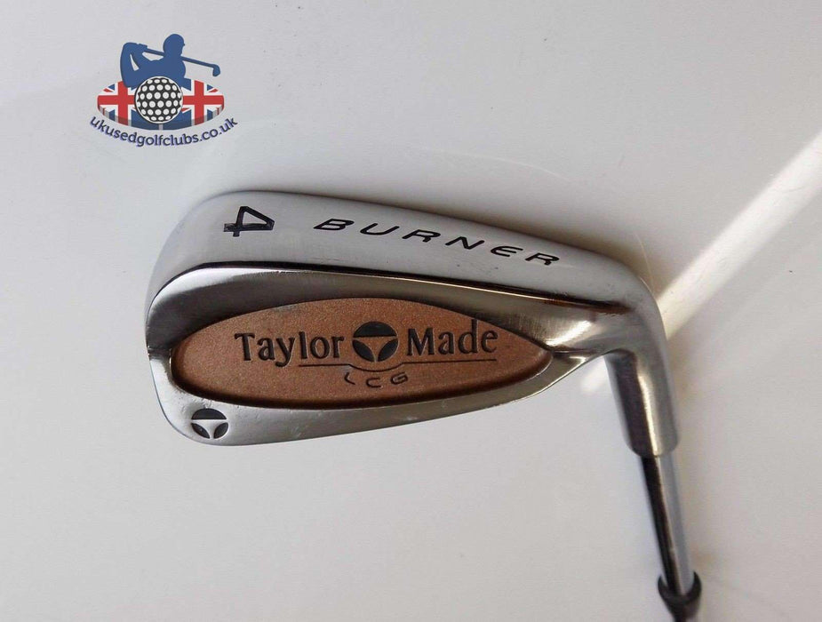 TaylorMade Burner LCG 4 Iron Rifle Stiff Steel Shaft TaylorMade Grip