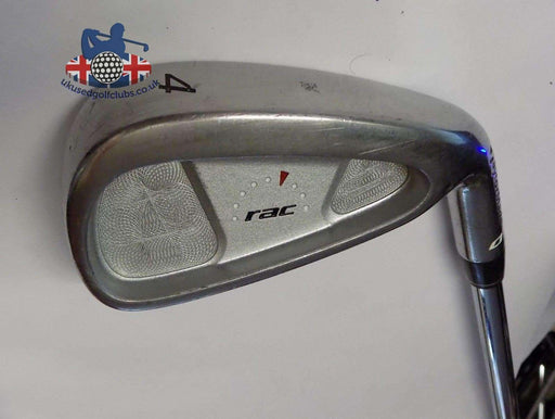 TaylorMade RAC OS 4 Iron Stiff Steel Shaft Golf Pride Grip