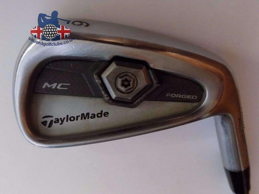 TaylorMade Tour Preferred MC Forged 6 Iron Rifle 6.0 Stiff Steel Shaft Golf Pride Grip