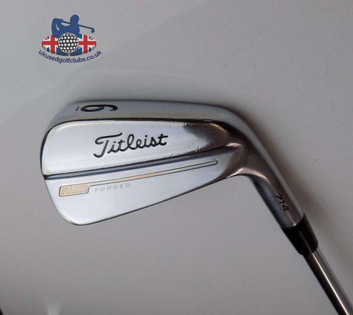 Titleist 714 MB Forged 6 Iron Project X 7.0 Extra Stiff+ Rifle Shaft Golf Pride Grip