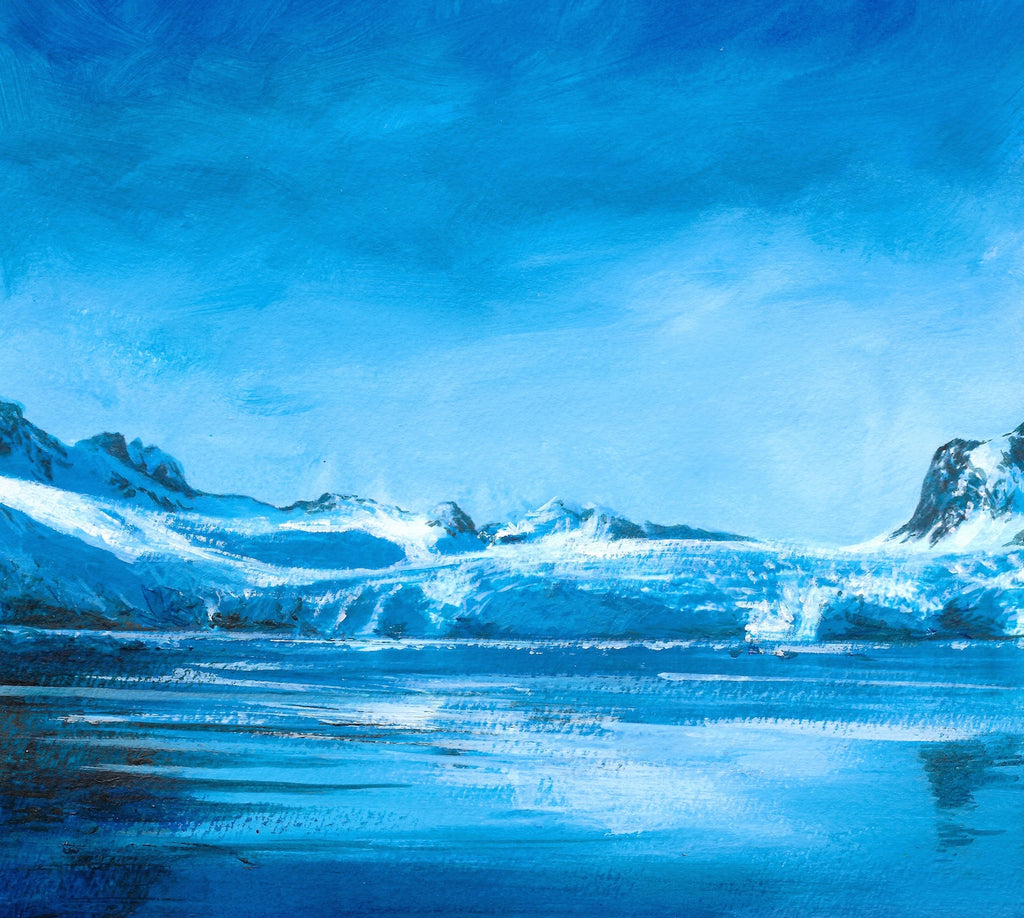 Blue Fjord Limited Edition Print