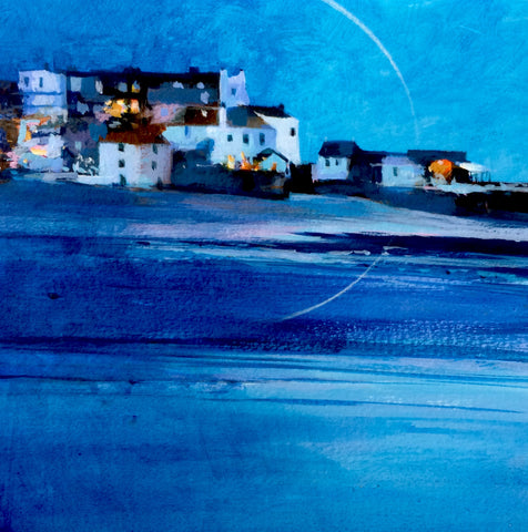 Cobalt Evening - St Ives Print