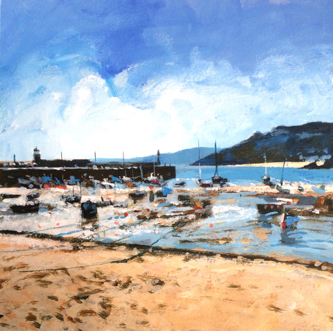 Harbour Beach - St Ives Print