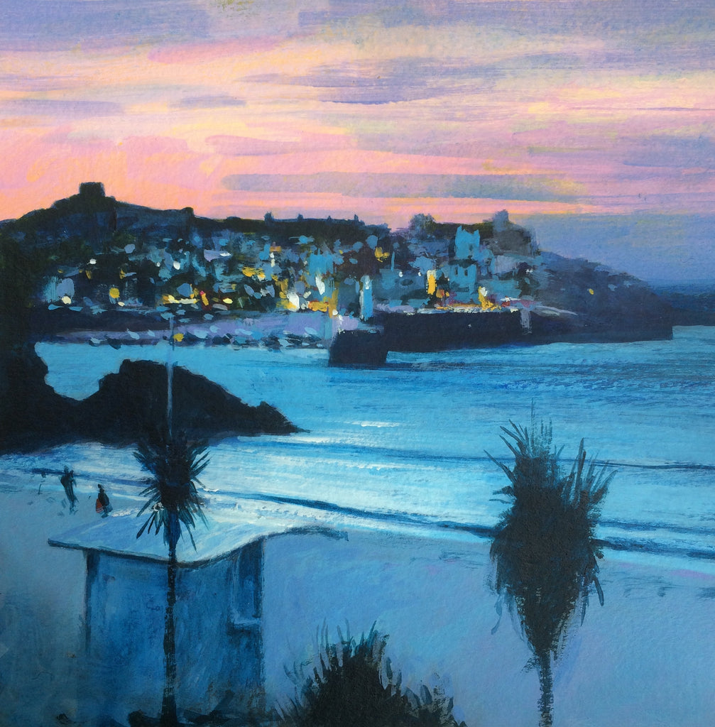 Lilac Evening - St Ives Print