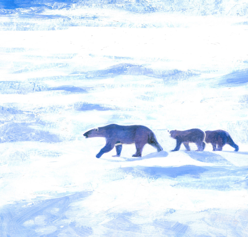 Mother and Cubs Limited Edition Print