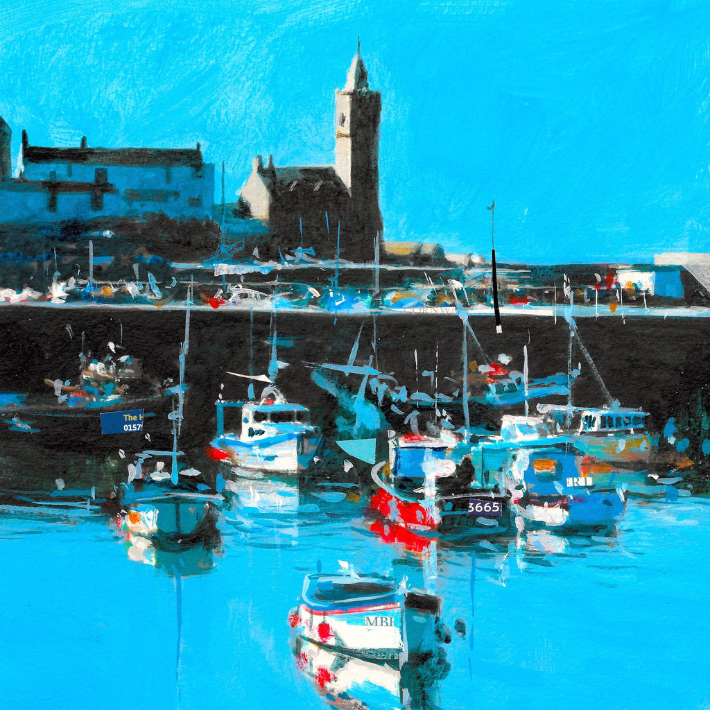 Porthleven - Summer Morning