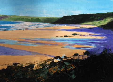 Sunlight and Shadows Study - Sennen