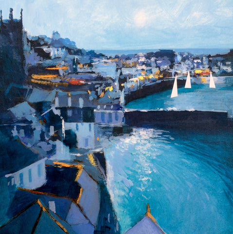 Three Sails - St Ives Print