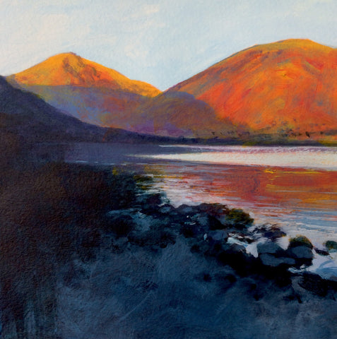 Purple shadows - Wasdale Print