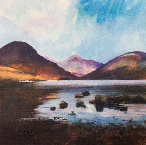Great Gable Evening Print