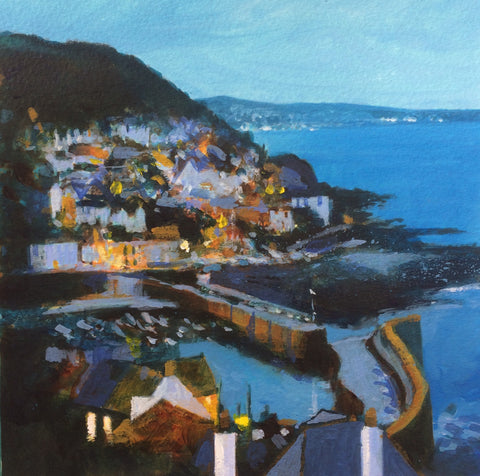 Over the Rooftops - Mousehole Print