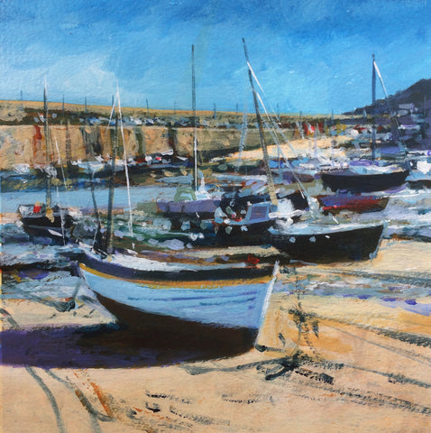 Boats and Floats - Mousehole Print
