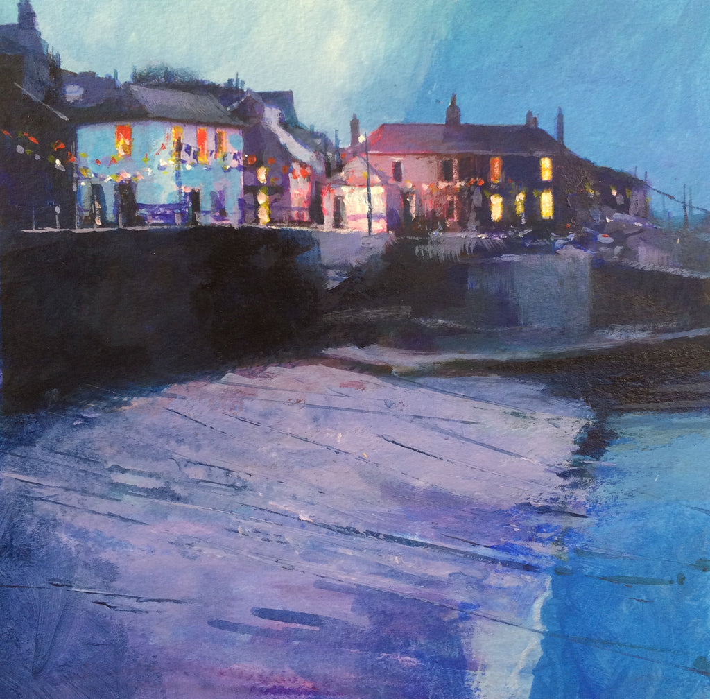 Lilac light - Mousehole Print
