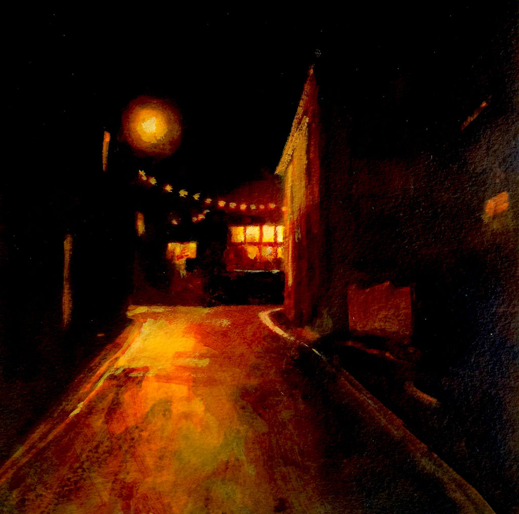 Mousehole Nights Print