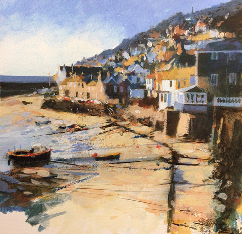 Golden Light - Mousehole Print