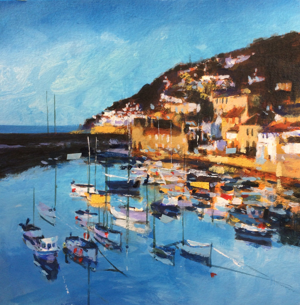 Ochre Dawn - Mousehole Print