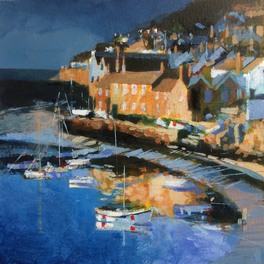 Golden Sunrise - Mousehole Print