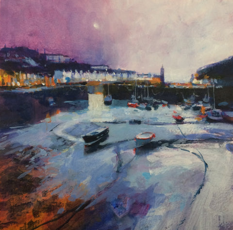 Lilac Evening - Porthleven Print