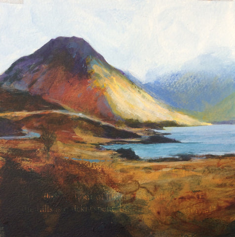 Road to the pub - Wasdale Print