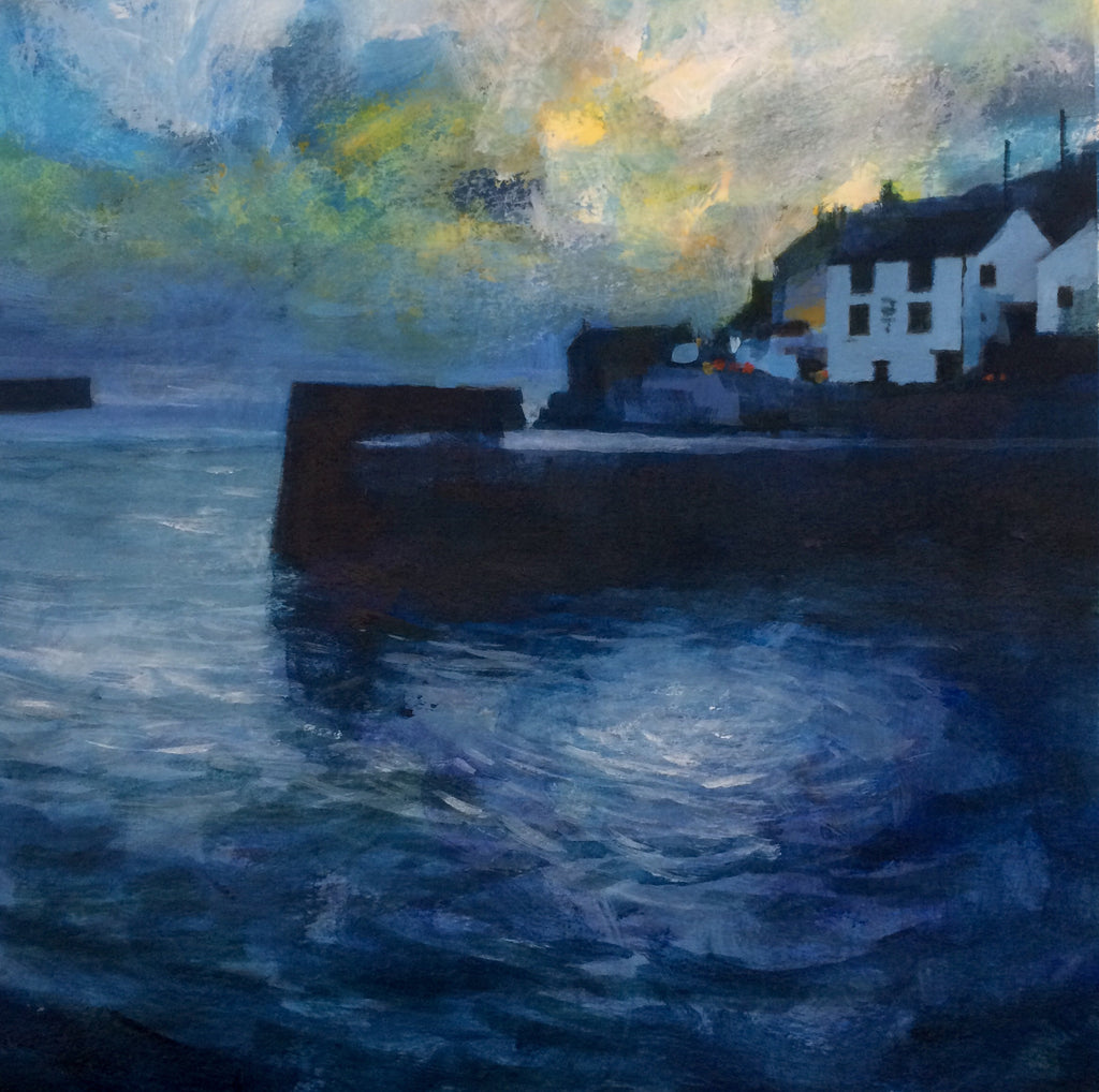 Blue light - Porthleven