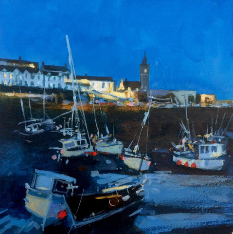 Cobalt Evening - Porthleven