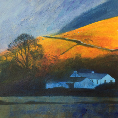 Lakeland Farm Evening Print