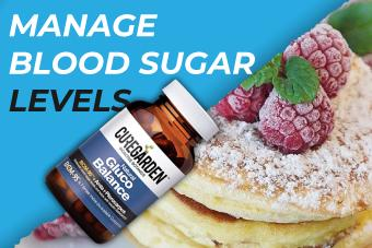 Balance blood sugar levels by curegarden gluco balance