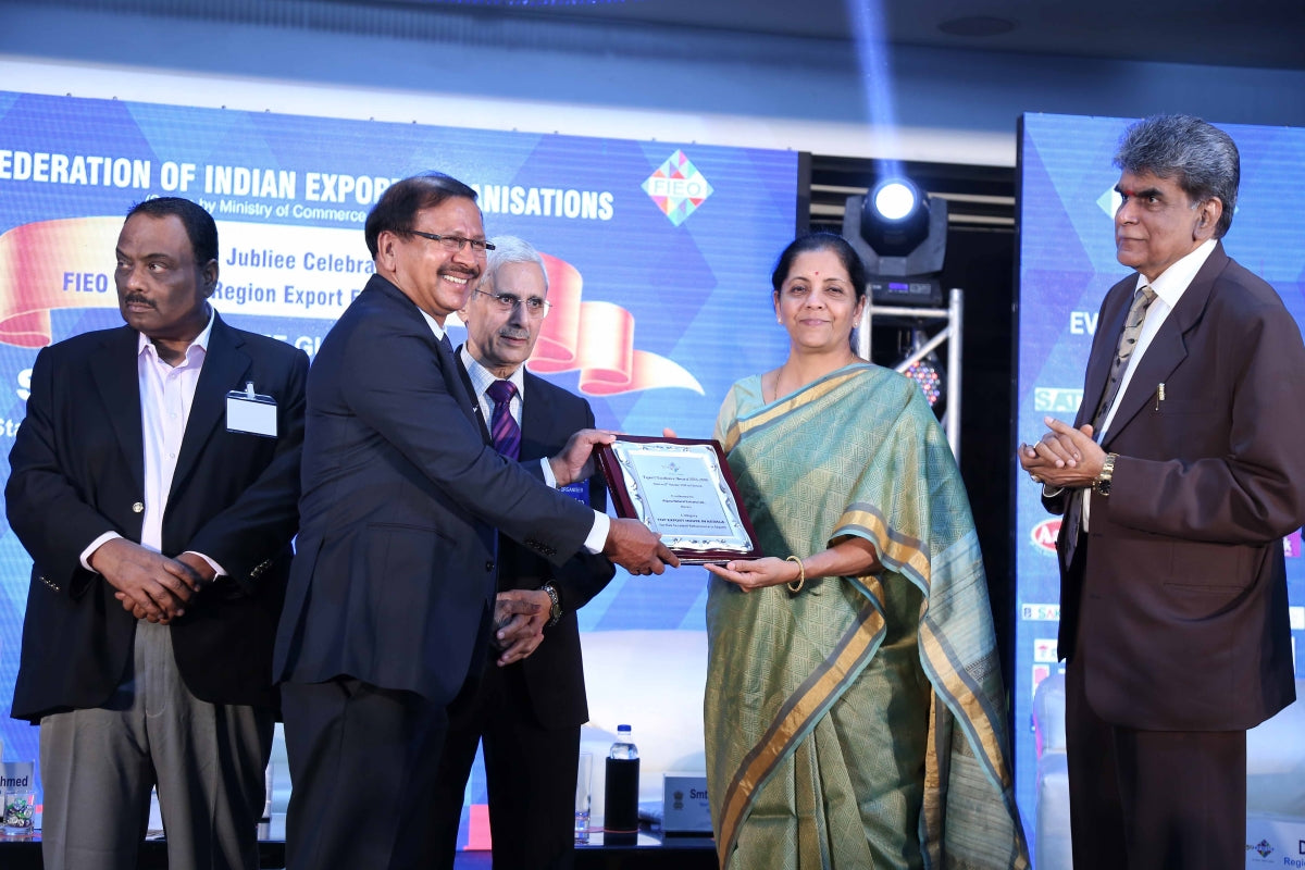 Export Excellency Award for Arjuna Natural Extracts Ltd.