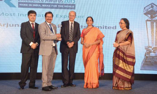 Arjuna Natural Extracts -Innovative Exporter Award