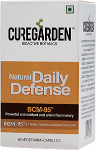 Daily Defense Capsules | Curcumin Extracts Enhances The Body'S Natural Defense Mechanism For Strong Immune Protection