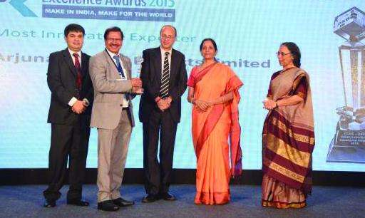 Exporter Of The Year' Award FOR Arjuna Natural Extracts