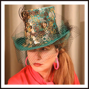 Melbourne Milliner Millinery Hat Fascinator Horse Racing Fashion Possum Ball Millinery