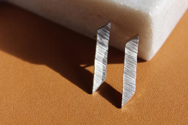Silver shard earrings - EMBR jewellery