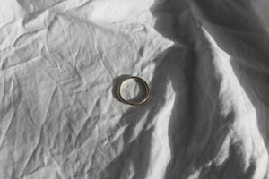Silver half light ring (1.5mm) - EMBR jewellery
