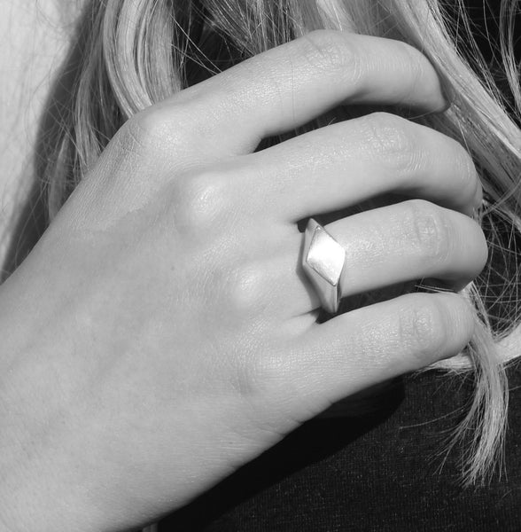 Silver prime ring - EMBR jewellery