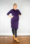 Claudia Dress - Plum