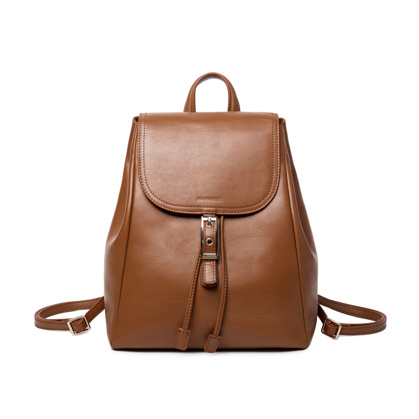 Nu Market Brown Womens Backpack Purse