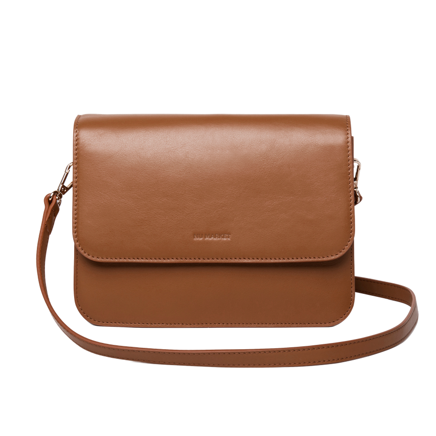 Nu Market Brown Cross Body Bag