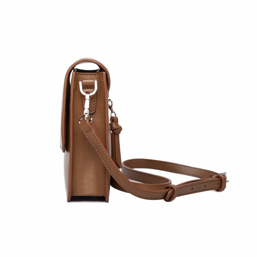 Nu Market Leather Crossbody Bag