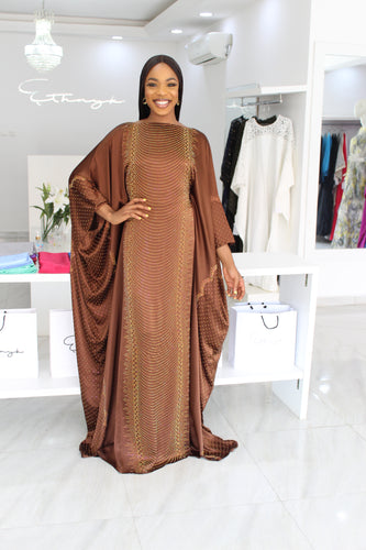 1 Lara Sisi Kaftan Golden Brown