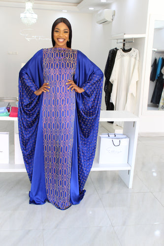1 Lara Sisi Kaftan Hexa Royal Blue