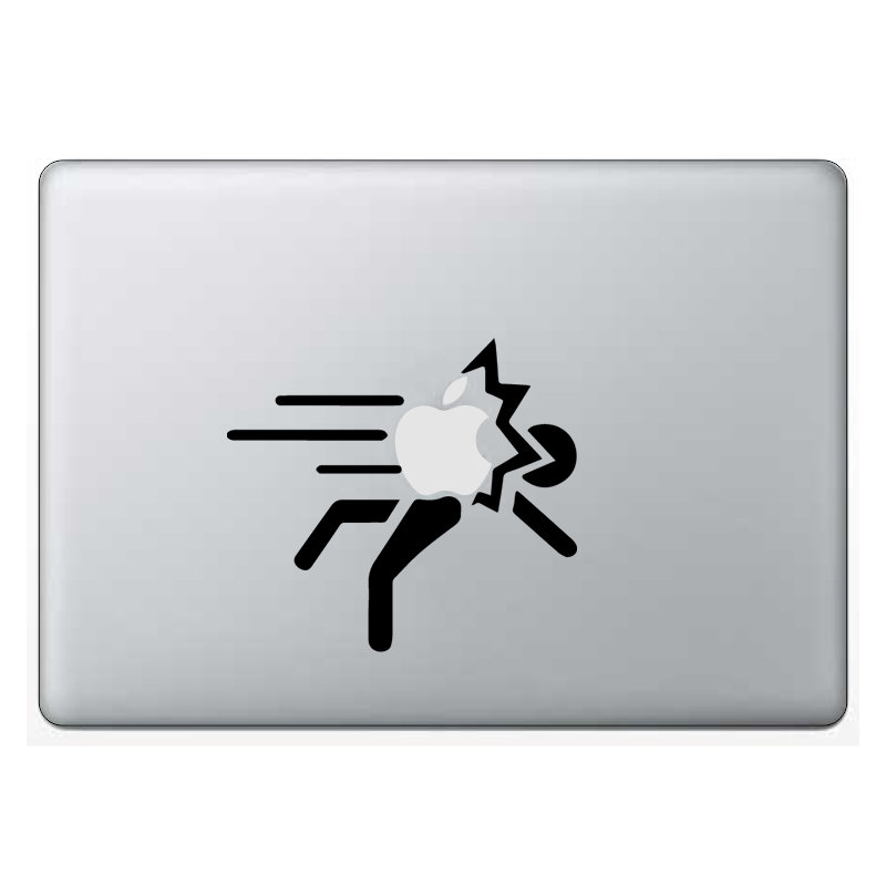 Macbook стикер - Apple Throw