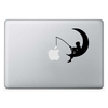 Macbook стикер - Boy and the Moon