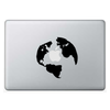 Macbook стикер - Earth