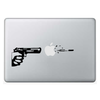 Macbook стикер - Gunshot Apple