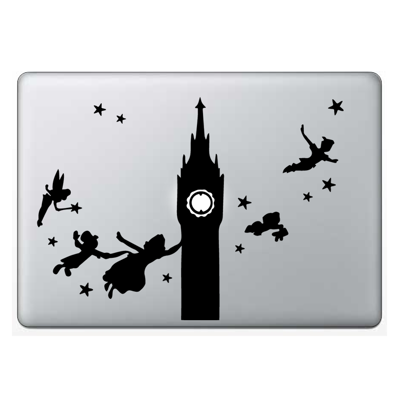 Macbook стикер - Peter Pan