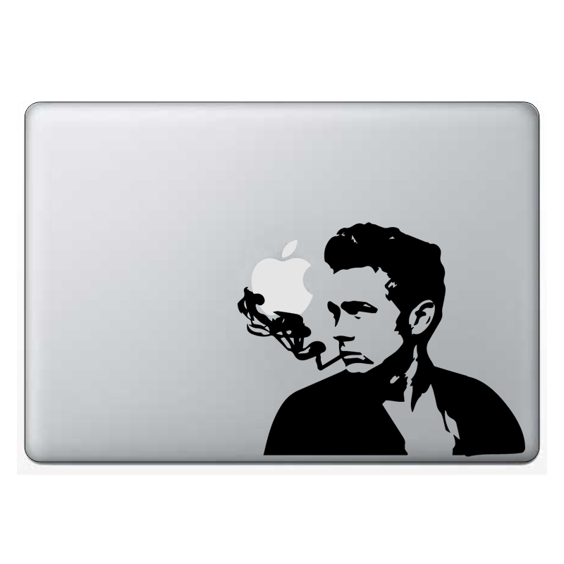 Macbook стикер - Smoking James Dean