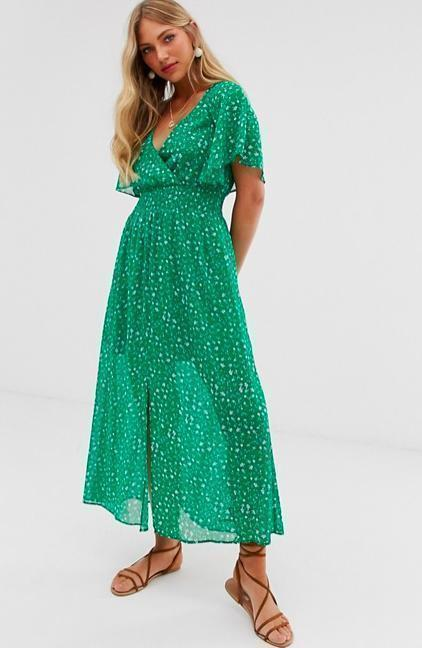 Green dress - Cozy