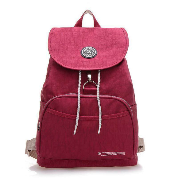 Lady's durable stylish nylon backpack - Cozy